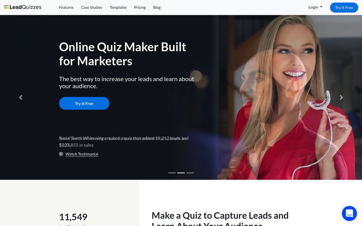 LeadQuizzes - Lead Capture Software