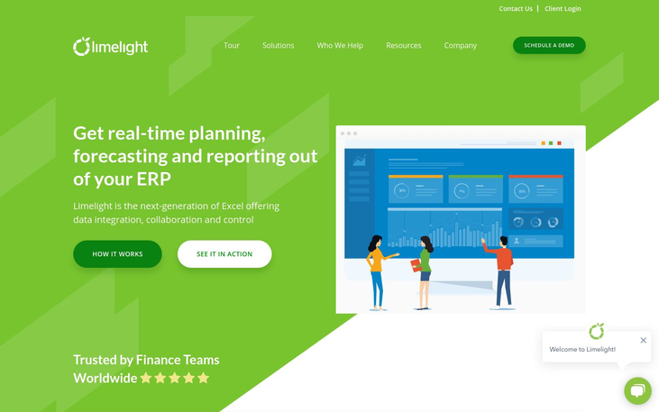 Limelight - Financial Reporting Software