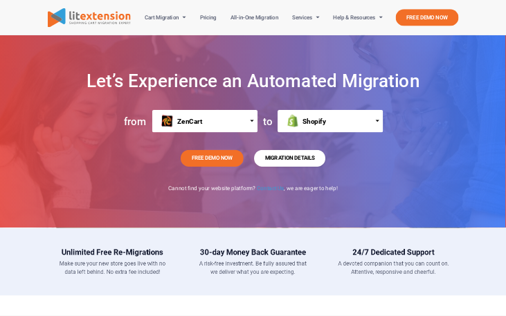 LitExtension - Data Migration Software