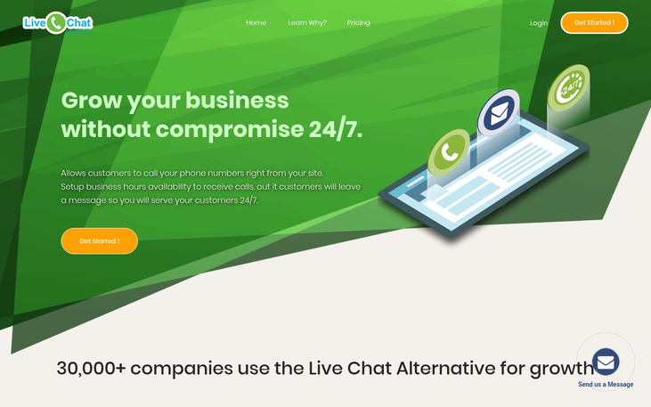 Live Chat Alternative - Live Chat Software