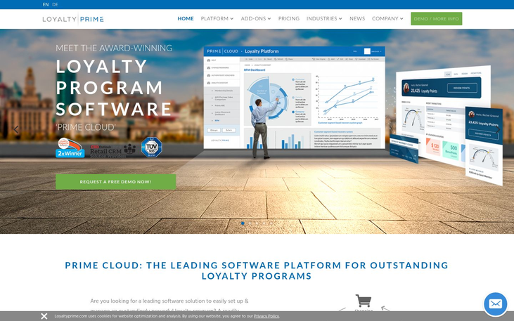 Loyalty Prime - Customer Loyalty Software