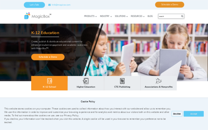 MagicBox - Elearning Authoring Software