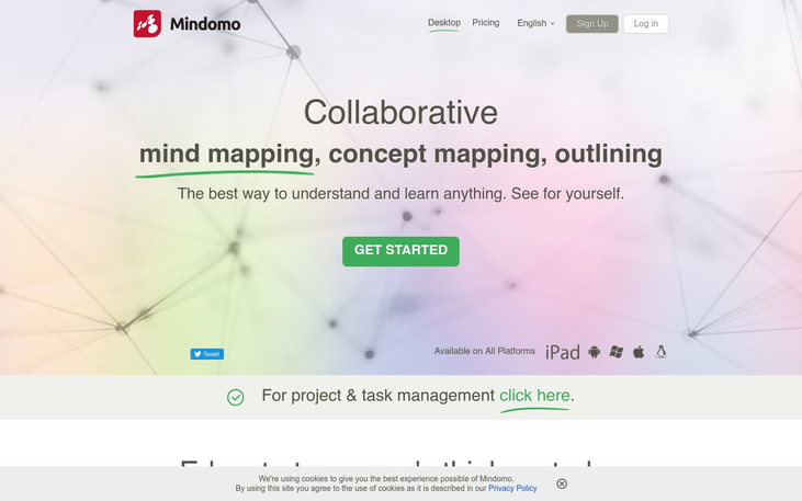 Mindomo - Mind Mapping Software