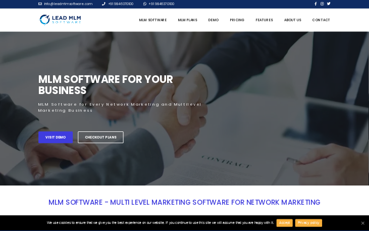 MLM Software by lead MLM Software