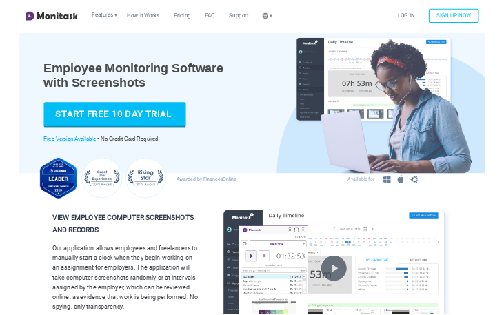 Monitask - Employee Monitoring Software