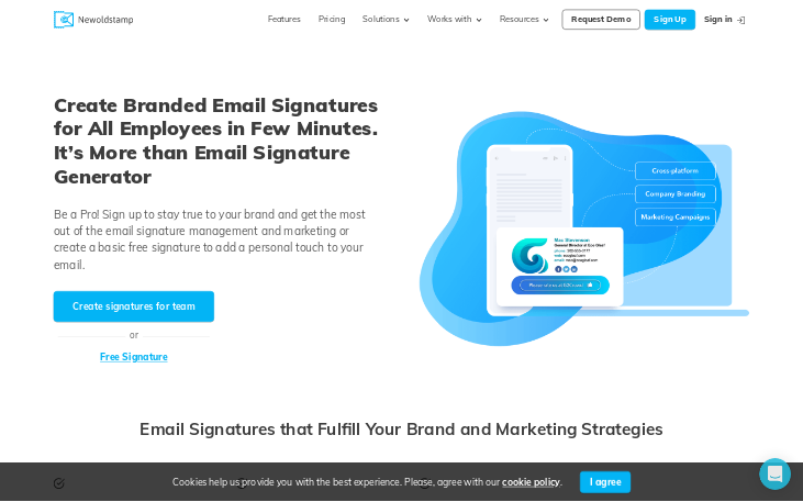 Newoldstamp - Email Signature Software