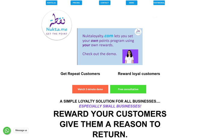 Nukta Loyalty Solutions - Customer Loyalty Software