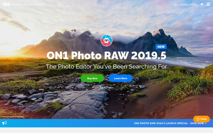 ON1 Photo RAW 2019.5 - Photo Editing Software
