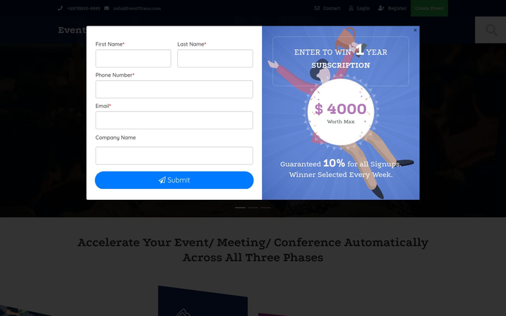 Online Surveys - Event Management Software