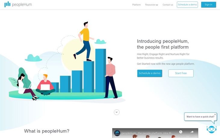 peopleHum- Human Capital Management Platform