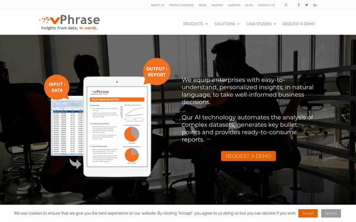 Phrazor - Business Intelligence Software