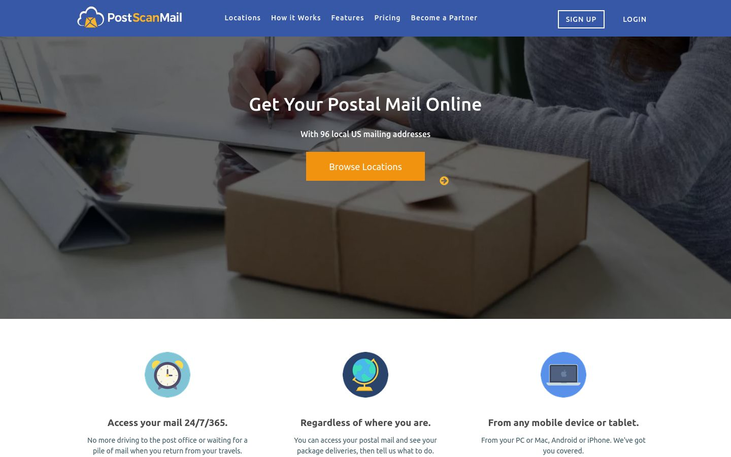 PostScan Mail - Professional Services Software