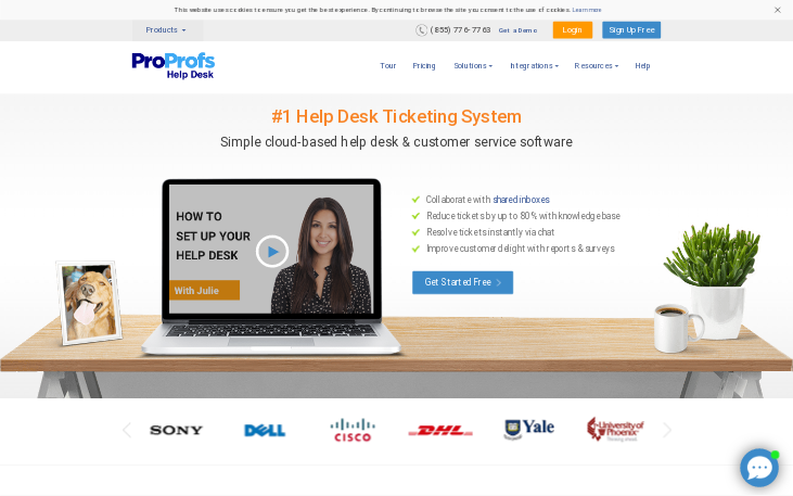 ProProfs Help Desk - Help Desk Software