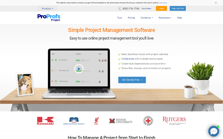 ProProfs Project - Project Management Software