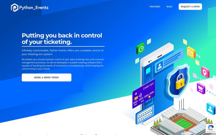 Python Events - Event Ticketing Software