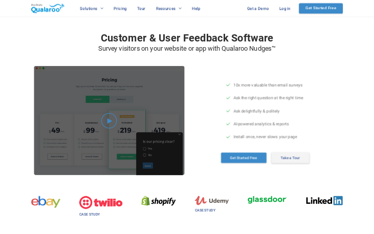 Qualaroo - Survey Software
