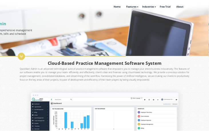 QuickStart Admin - Accounting Practice Management Software