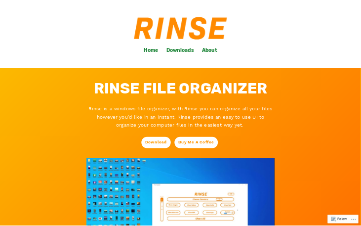 Rinse - File Organizer Software