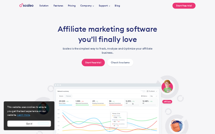 Scaleo - Affiliate Tracking Software