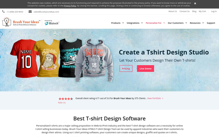 6 Best T Shirt Designing Software 2020 Pricing Reviews Reapon