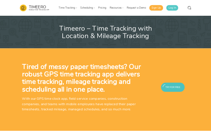 Timeero - Time Tracking Software