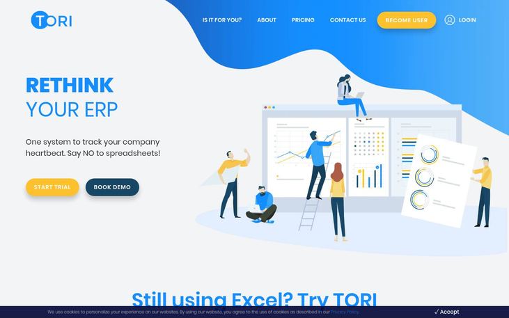 TORI - Business Management Software