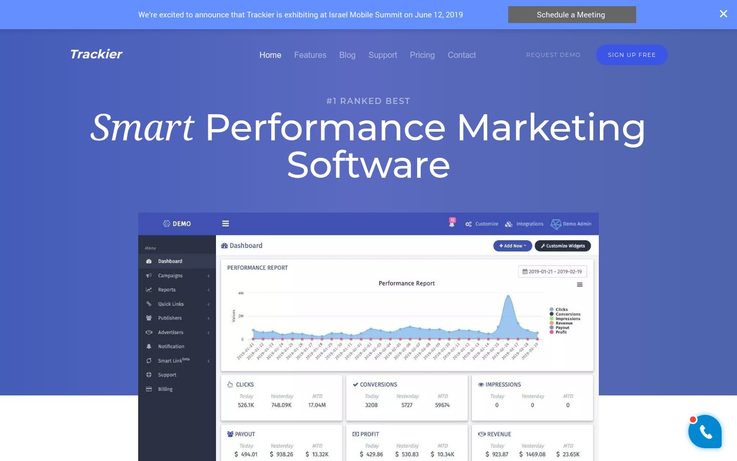 Trackier - Affiliate Tracking Software