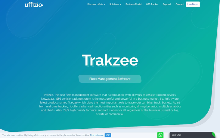 Trakzee - Fleet Management Software