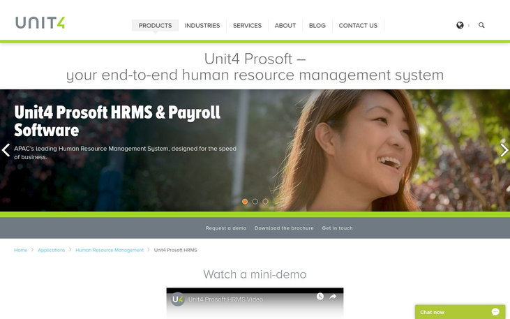 Unit4 Prosoft - Human Resource Software