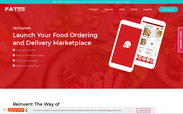 Yo!Yumm - Food Delivery Software
